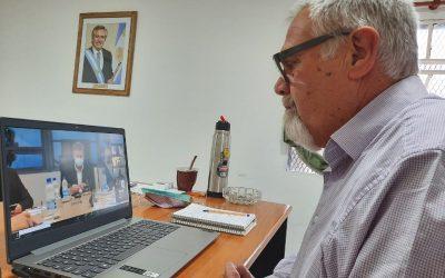 El intendente Pavoni apoyó las medidas anunciadas por el gobernador Ziliotto